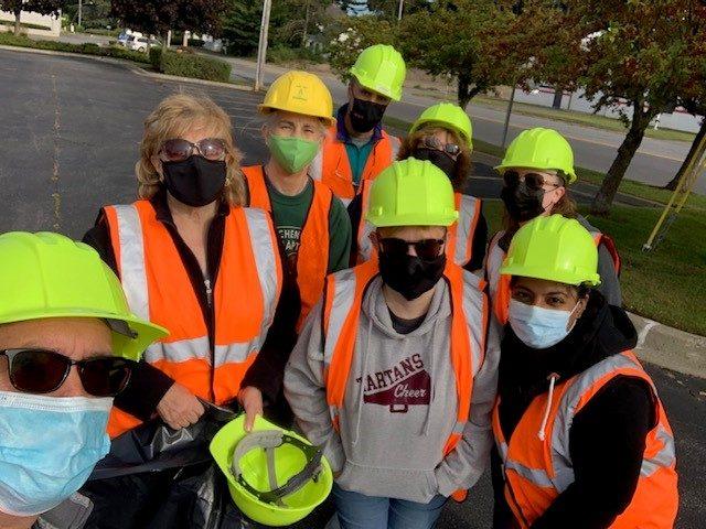 Hopmeier Evans Gage Agency Highway Cleanup September 2020